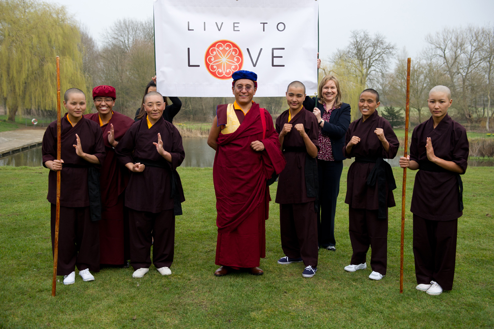 His Holiness the Gyalwang Drukpa and Kung Fu Nuns